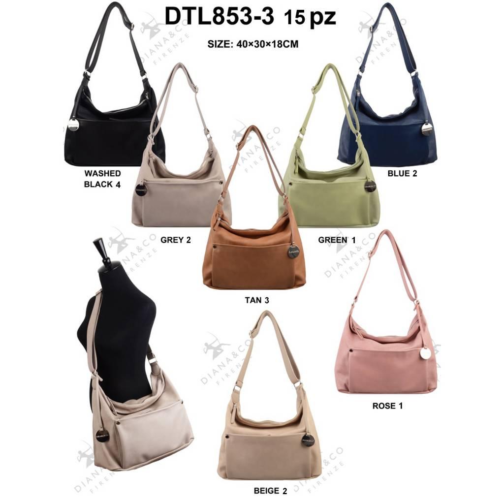 Diana&Co DTL853-3 Mixed colors 15 pcs