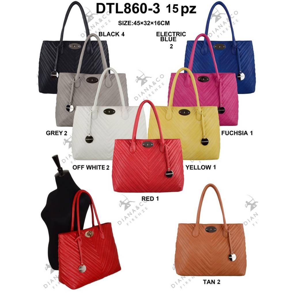 Diana&Co DTL860-3 Mixed Colors 15 pcs