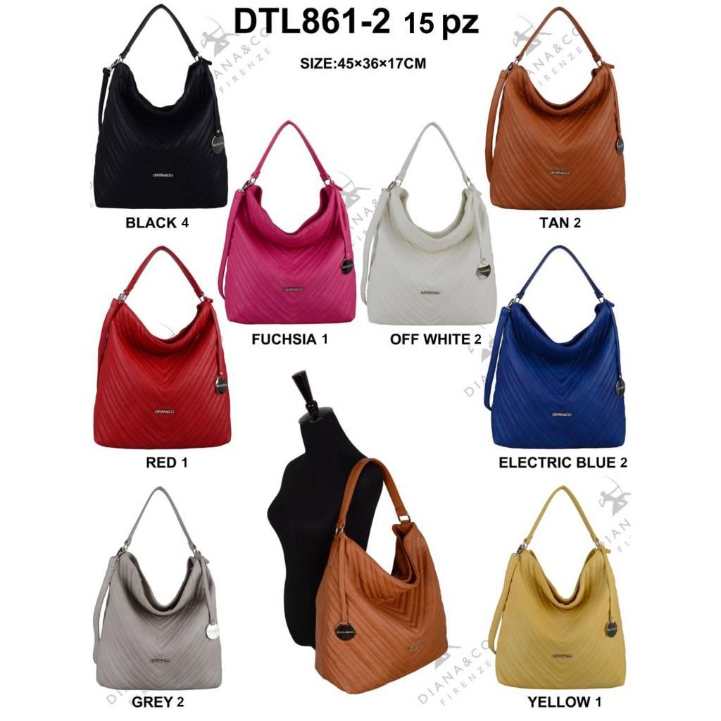 Diana&Co DTL861-2 Mixed Colors 15 pcs