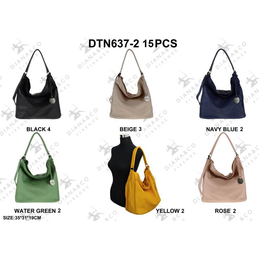 Diana&Co DTN637-2 Mixed colors 15 pcs