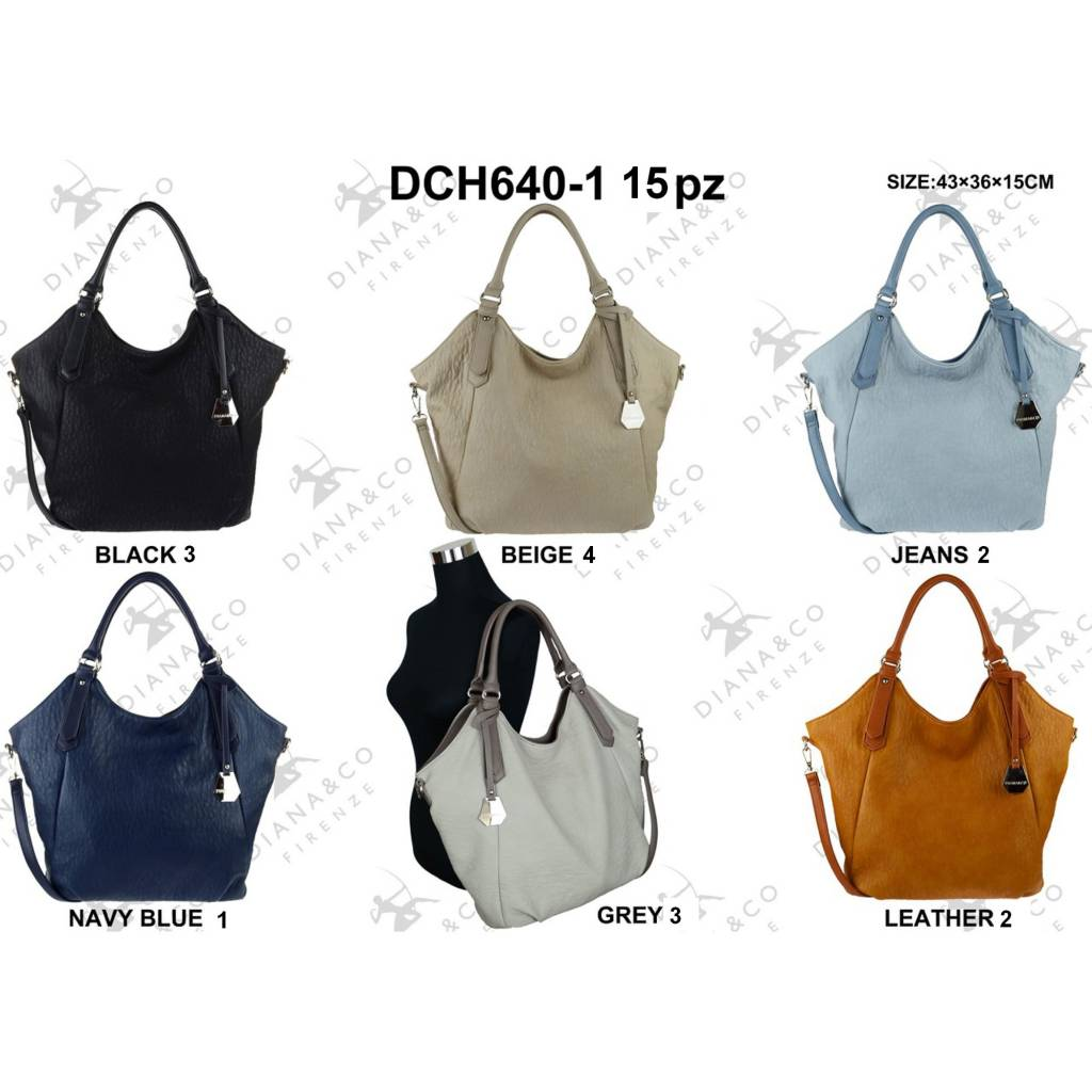 Diana&Co DCH640-1 Mixed colors 15 pcs
