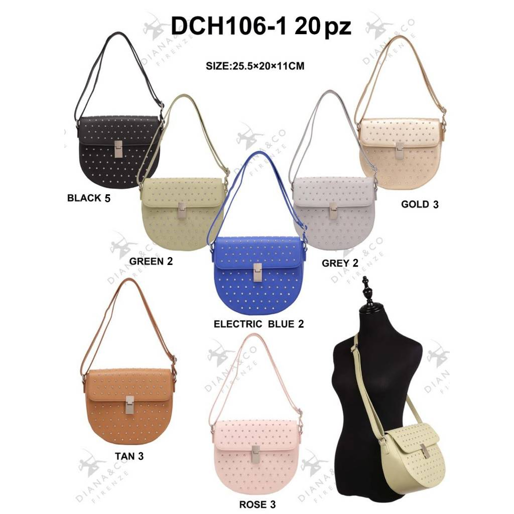 Diana&Co DCH106-1 Mixed Colors 20 pieces