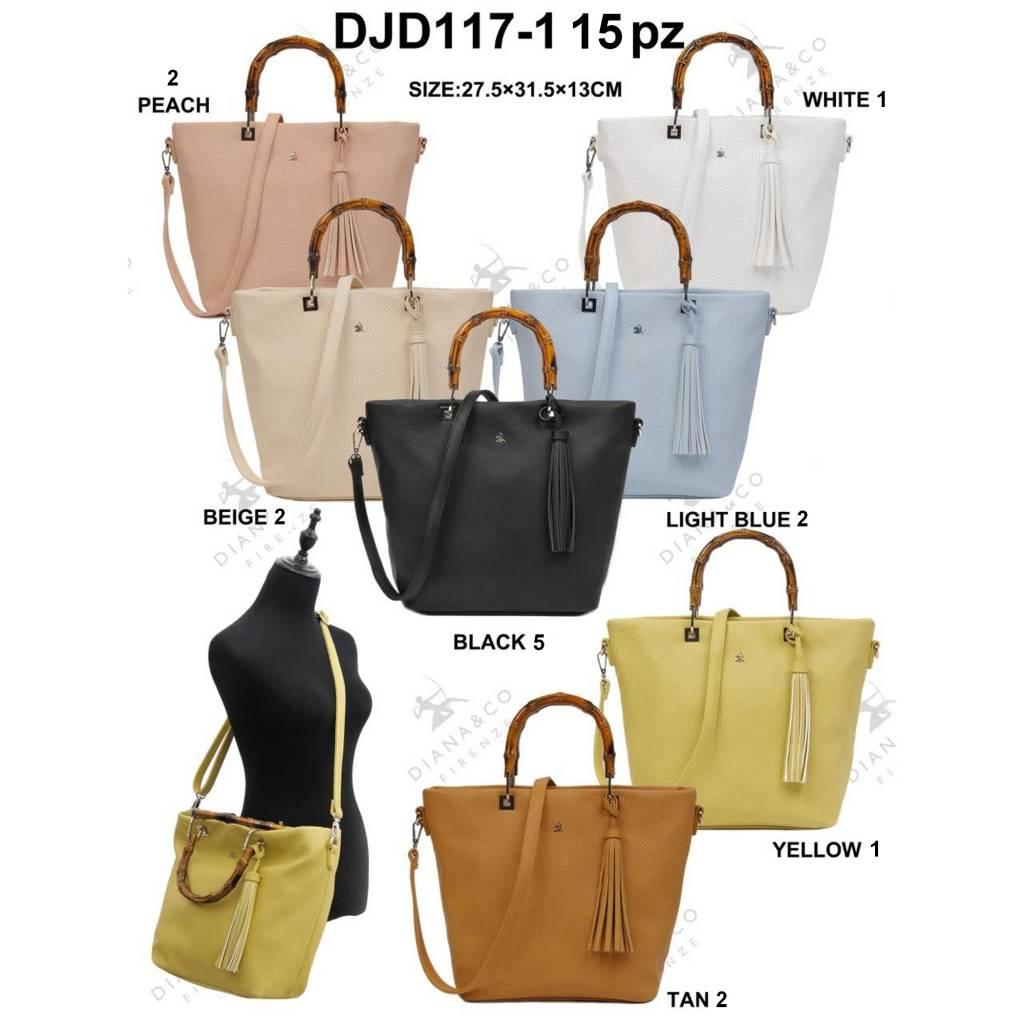 Diana&Co DJD117-1 Mixed Colors 15 pièces