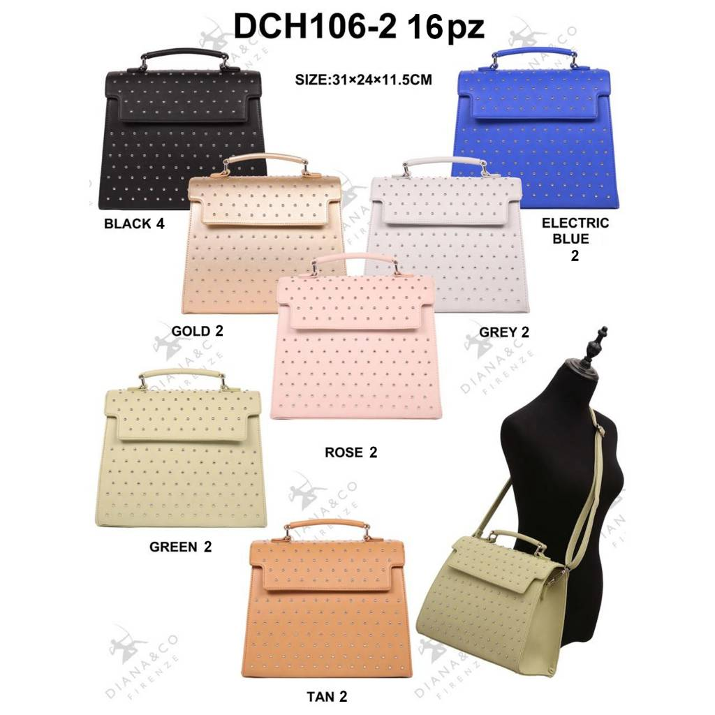 Diana&Co DCH106-2 Mixed Colors 16 pieces