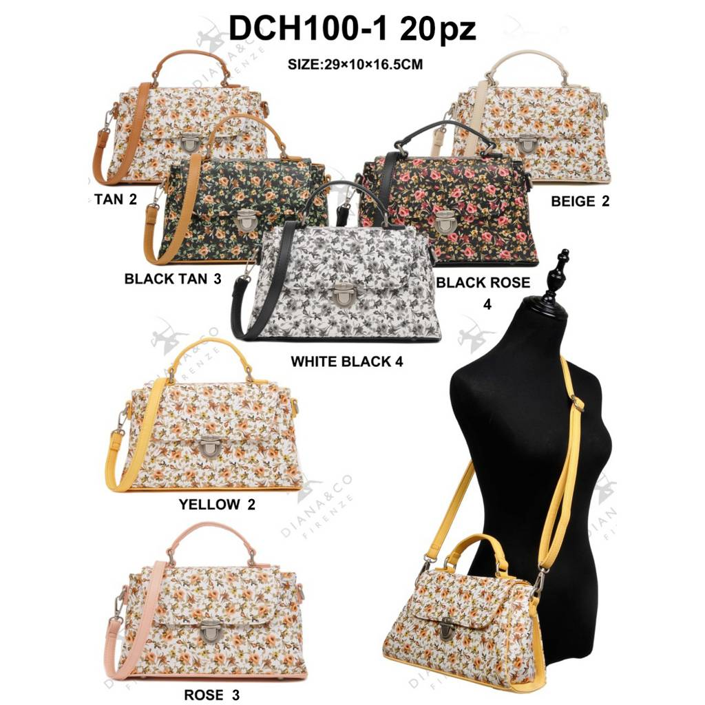 Diana&Co DCH100-1 Mixed Colors 20 pcs
