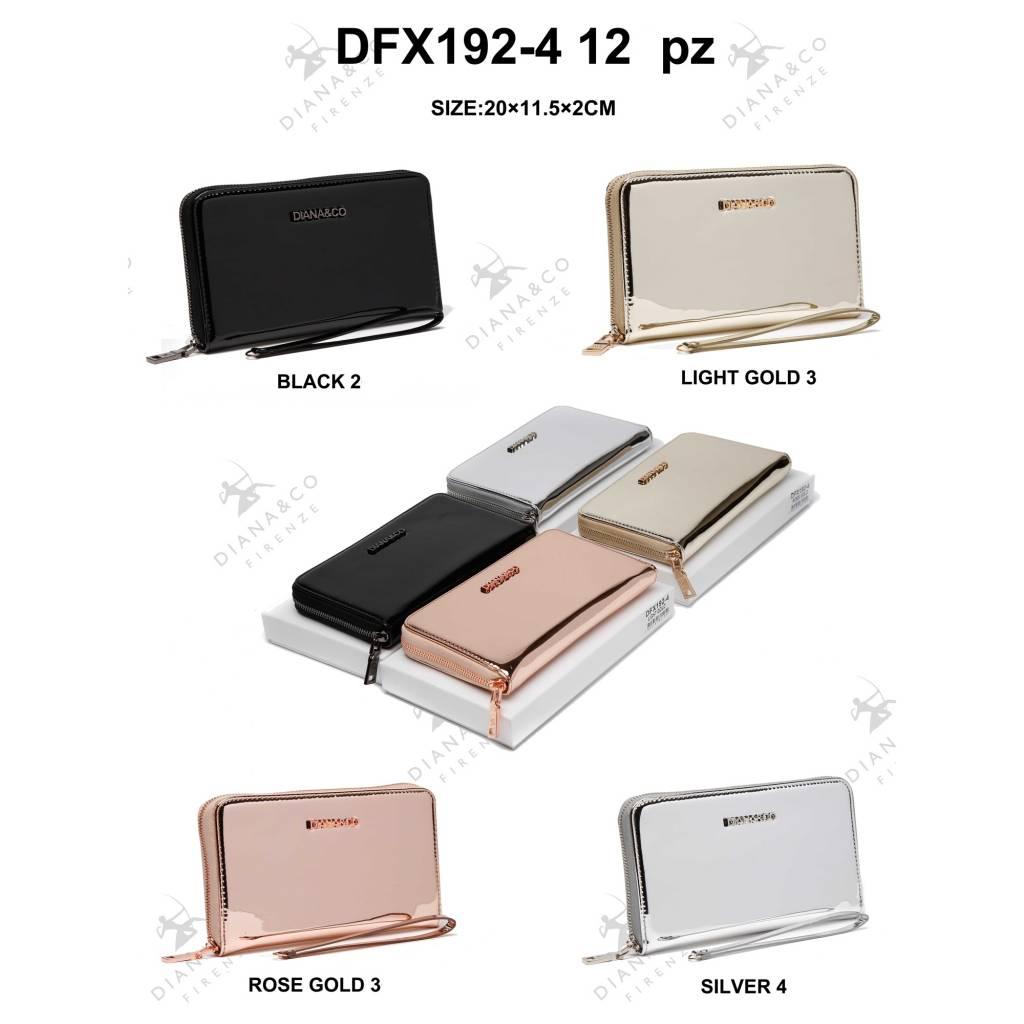 Diana&Co DFX192-4 Mixed colors 12 pieces