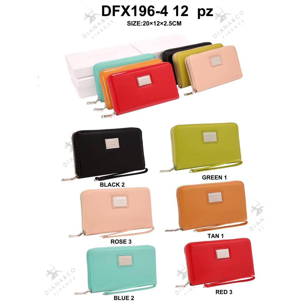 Diana&Co DFX196-4 Mixed colors 12 Stück