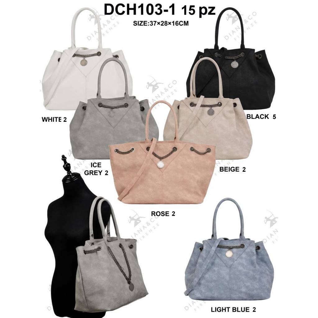 Diana&Co DCH103-1 Mixed Colors 15 pièces