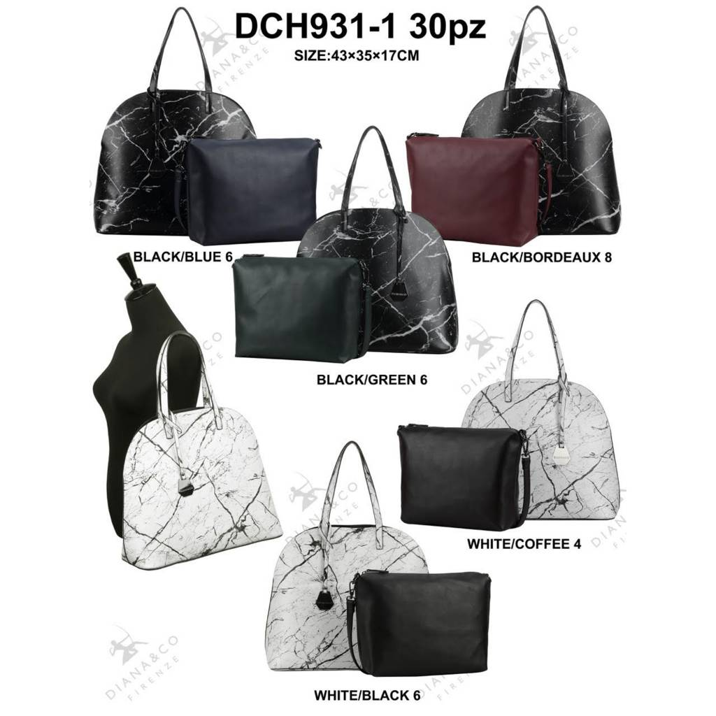 Diana&Co DCH931-1 Mixed Colors 30 pieces