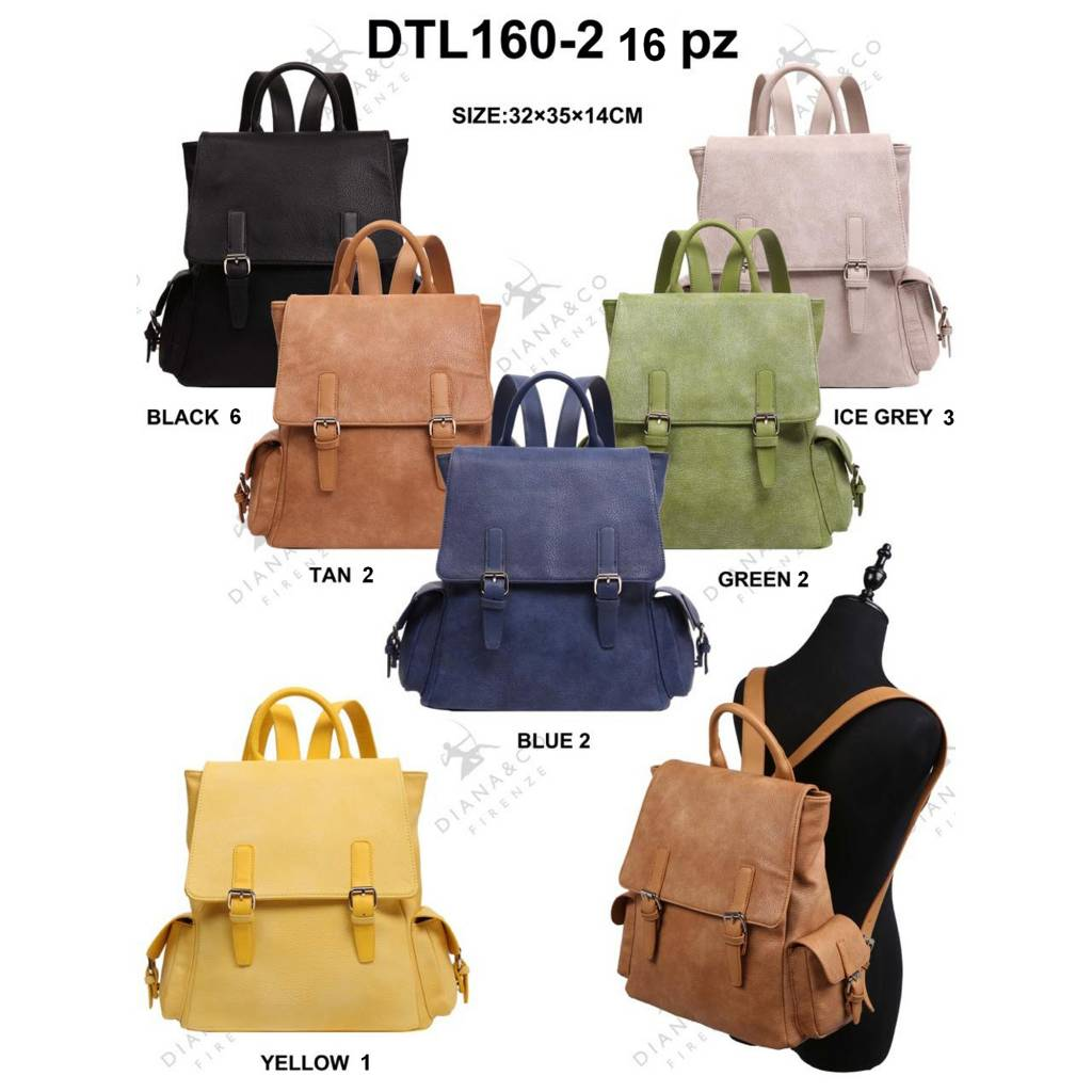 Diana&Co DTL160-2 Mixed Colors 16 pièces