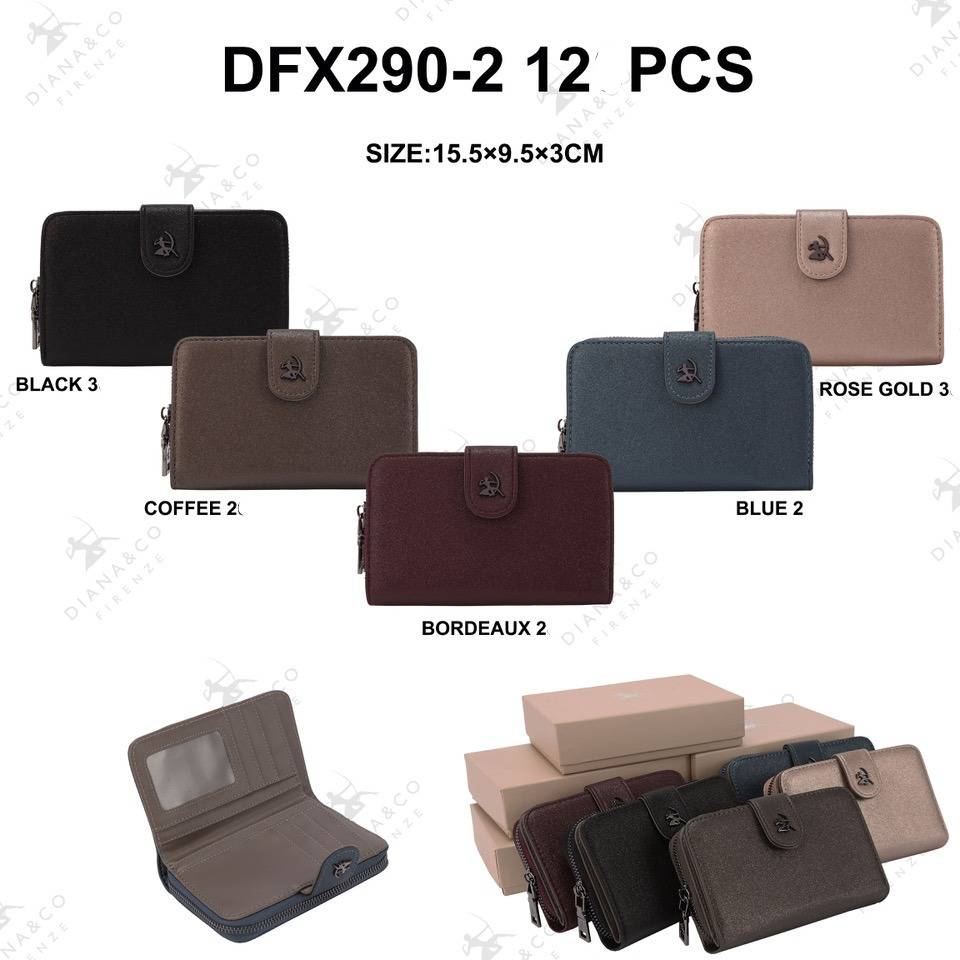 Diana&Co DFX290-2 Mixed colors 12 pieces