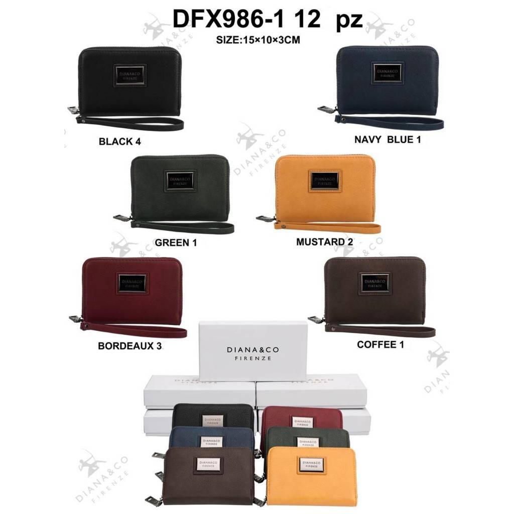 Diana&Co DFX986-1 Mixed colors 12 stuks