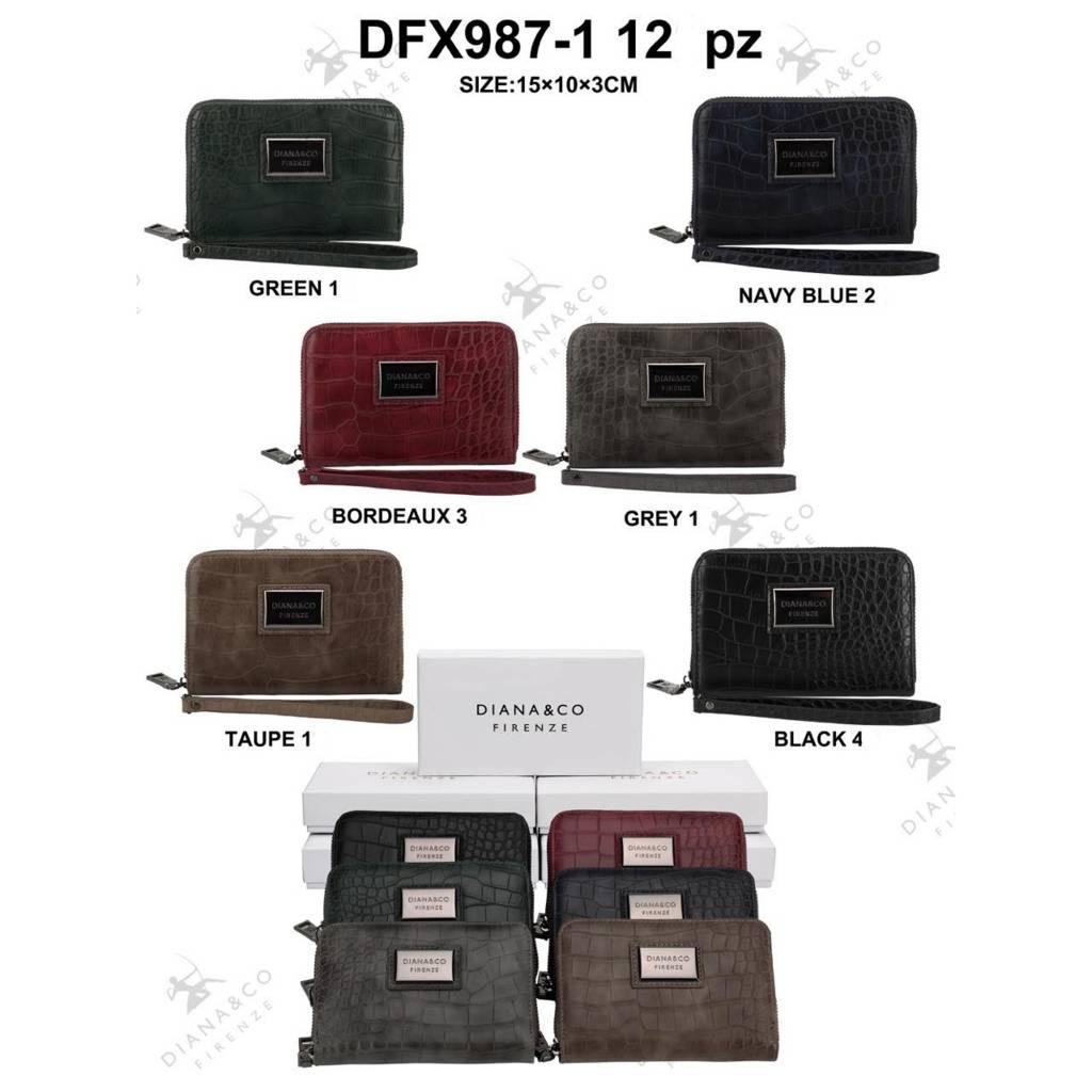 Diana&Co DFX987-1 Mixed colors 12 stuks