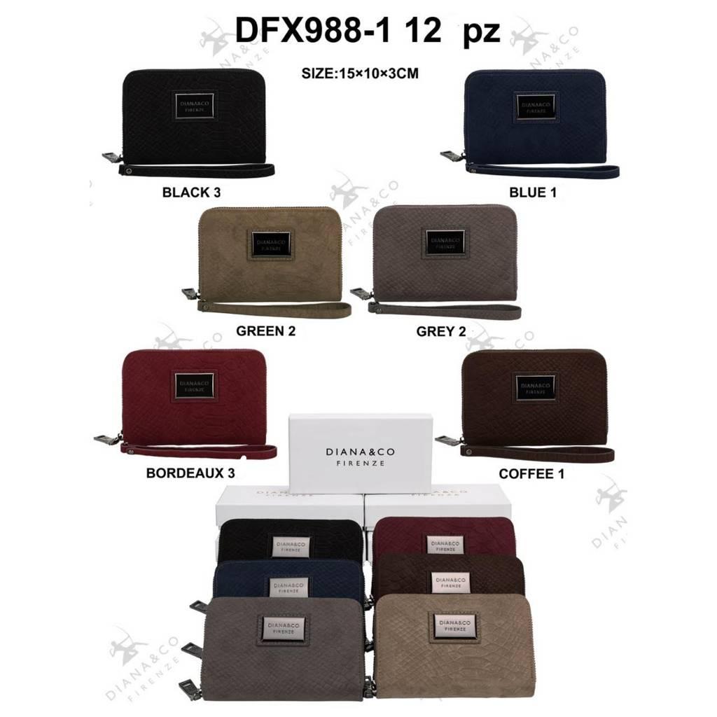 Diana&Co DFX988-1 Mixed colors 12 stuks