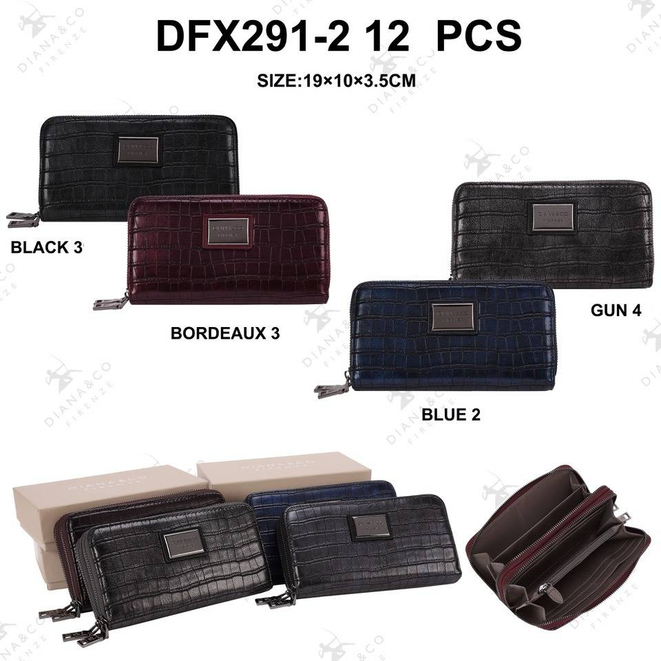 Diana&Co DFX291-2 Mixed colors 12 pieces