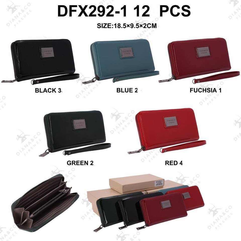 Diana&Co DFX292-1  Mixed colors 12 pieces