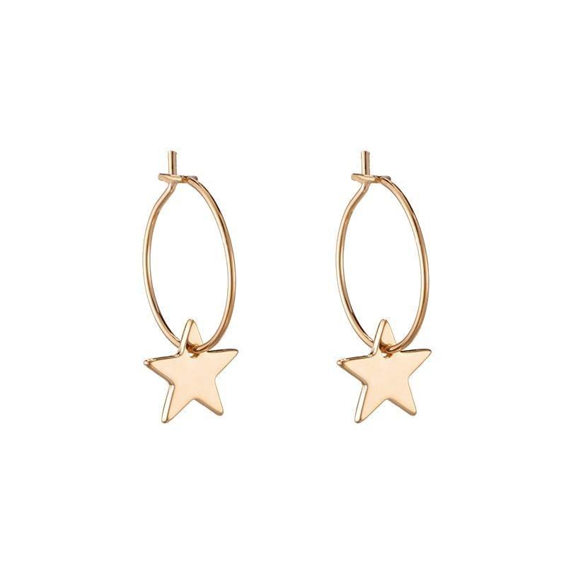 CHIC STAR EARRINGS - GOLD