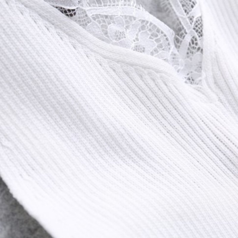 FLAWLESS LACE TOP - WHITE