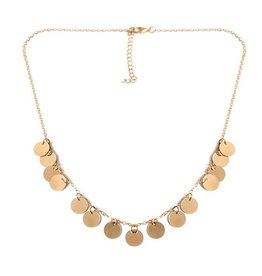 BOHO COINS NECKLACE - GOLD