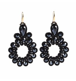 TREASURE EARRINGS - BLACK