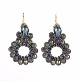 TREASURE EARRINGS - GREY