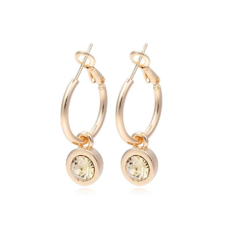 LA CHIC EARRINGS - GOLD/GOLD