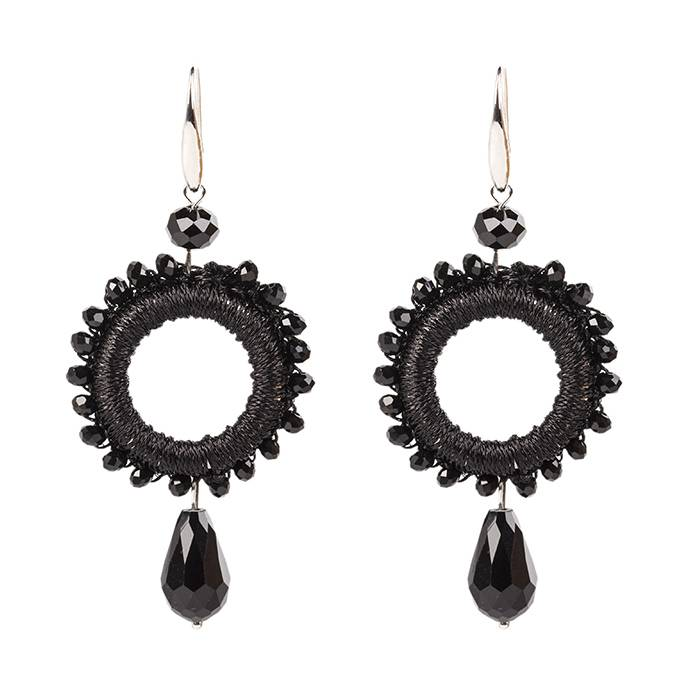 CHIC BLACK EARRINGS