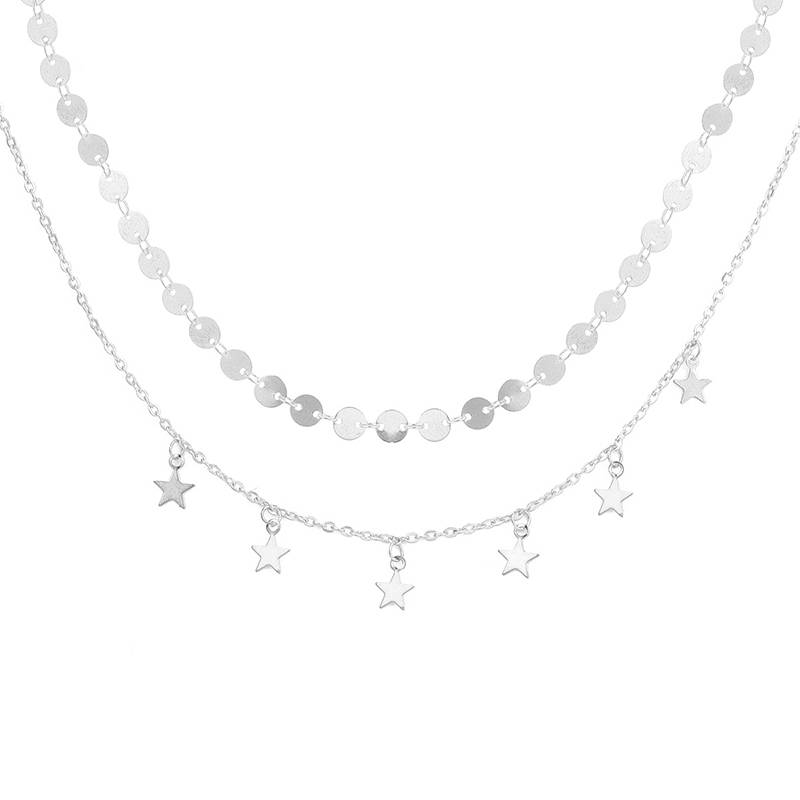 THE PERFECT LAYERED NECKLACE - SILVER