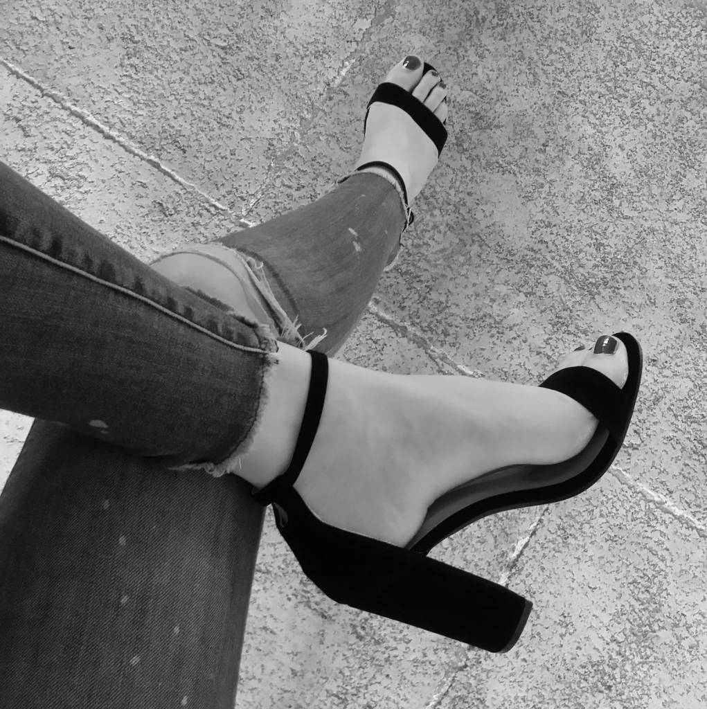 BLACK BEAUTY HEELS