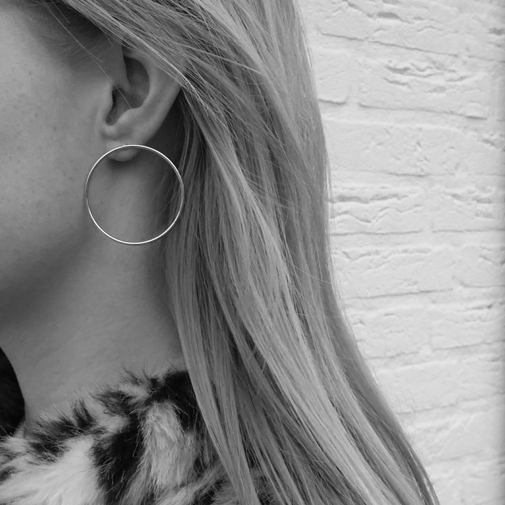 EAR HOOPS - GOLD