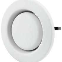 Afvoer ventiel kunststof 125mm signaalwit - STC 100/125
