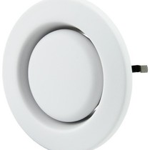 Ventilatie afvoer ventielen kunststof 125mm signaalwit - STC 100/125