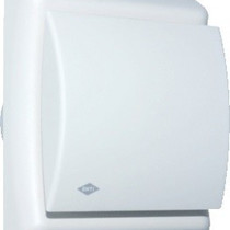 BTV N202H badkamer / toilet kanaalventilator wit 75 m3/h Hygrostaat 540-0820N