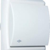 BTV N203HT badkamer / toilet kanaalventilator wit 75 m3/h Timer - Hygrostaat 540-0831N