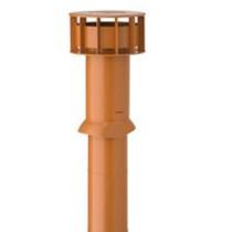 Multivent dia 166 dakdoorvoer ventilatiepijp nat. rood (0189500)