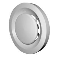 Ducovent basic kunststof afvoerventiel wit 125 mm