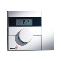 Moduline 100 modulerende kamerthermostaat handbediend - digitaal 67903516