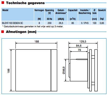 Bestel Soler + Palau Silent Design 100CHZ TIMER + VOCHTSENSOR ...