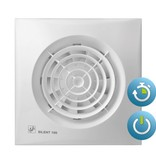 Soler & Palau S&P Silent 100 CRZ TIMER Badkamer / toilet ventilator - dia 100mm