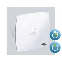BTV 400T badkamer / toilet kanaalventilator wit 78 m3/h Timer 342-0020