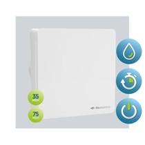 BTV-ssst HT badkamer / toilet kanaalventilator wit 35-75 m3/h 2 snelheden Timer + Hygrostaat 53-00091
