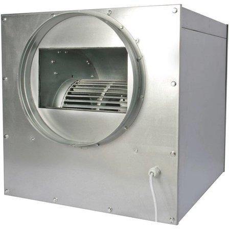 FilterFabriek Huismerk Afzuigbox 250 m3/h staal geisoleerd afzuiger