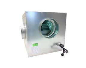 Afzuigbox staal geisoleerd + geluidsdemping