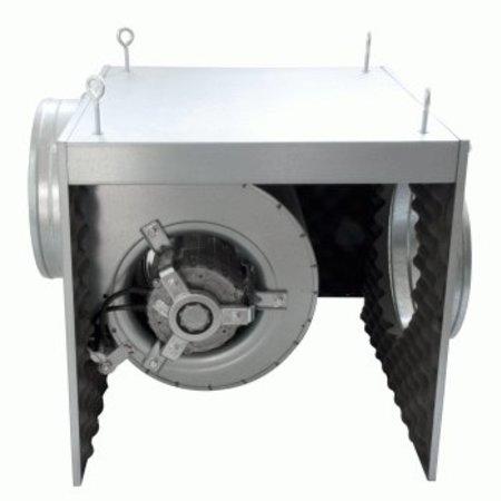 FilterFabriek Huismerk Afzuigbox 2000 m3/h staal geisoleerd afzuiger