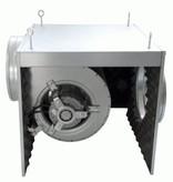 FilterFabriek Huismerk Afzuigbox 2500 m3/h staal geisoleerd afzuiger