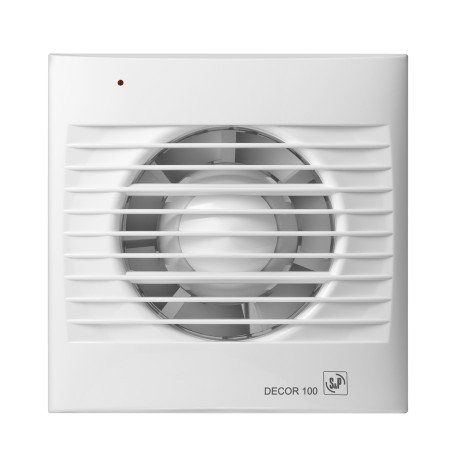 S&P Decor 100 CZ aan/uit Badkamer/ toilet ventilator - dia 100mm ...