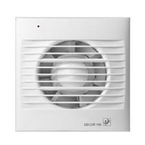 Decor 100 CRZ aan/uit + TIMER Badkamer/ toilet ventilator - dia 100mm