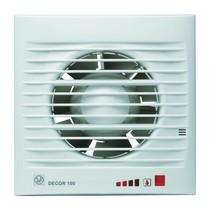 Decor 100 CHZ Visual BEWEGINGSSENSOR + VOCHTSENSOR Badkamer/ toilet ventilator - dia 100mm