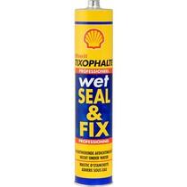 Tixophalte Wet Seal & Fix - Dak en (spiro)kanaal afwerking - ZWART