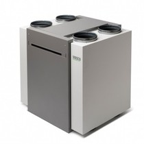 WTW-unit D400 II - inclusief draadloze RF bediening